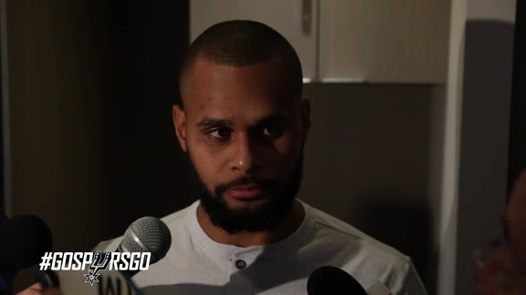 Patty Mills: Postgame 5/2