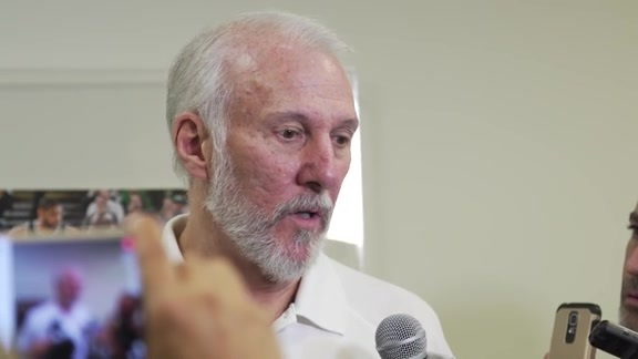 Coach Popovich: Media Availability 5/13