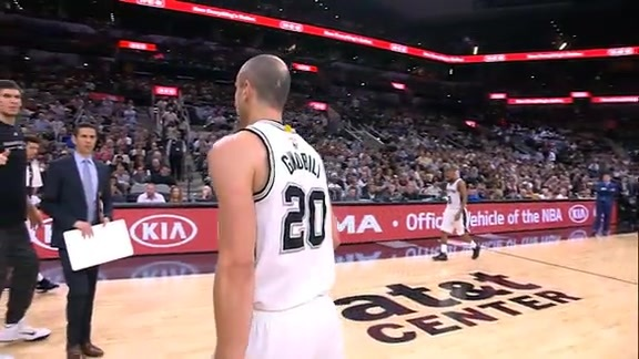 Manu Ginobili: Highlights 2015-16