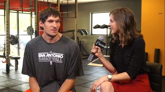 One-On-One With Boban Marjanovic