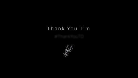 San Antonio Says Thank You Tim