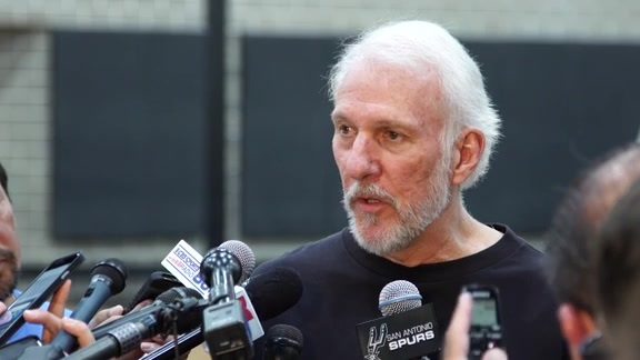 Coach Popovich on Duncan's Retirement