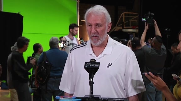 Coach Popovich - Media Day 2016