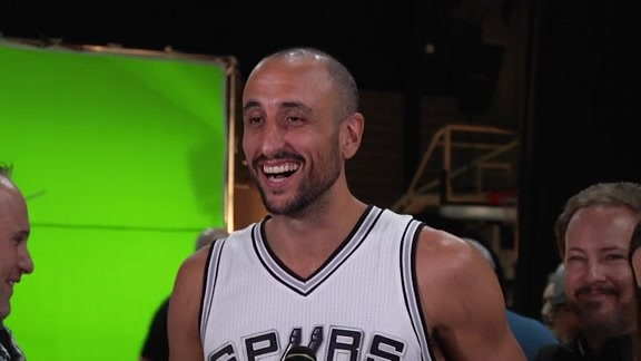 Manu Ginobili - Media Day 2016