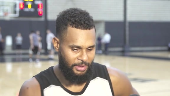Patty Mills: Training Camp 9/27