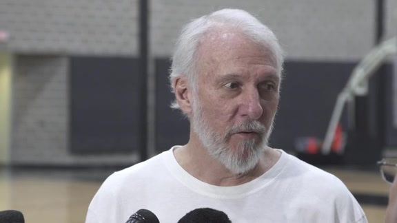 Coach Popovich: Training Camp 9/28