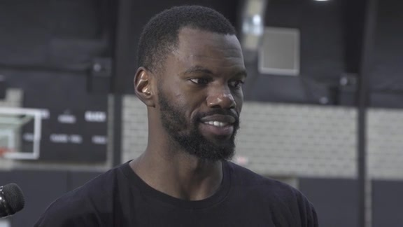 Dewayne Dedmon: Training Camp 9/28