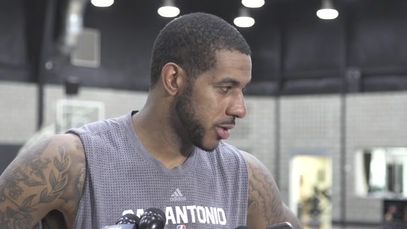 LaMarcus Aldridge: Training Camp 9/29