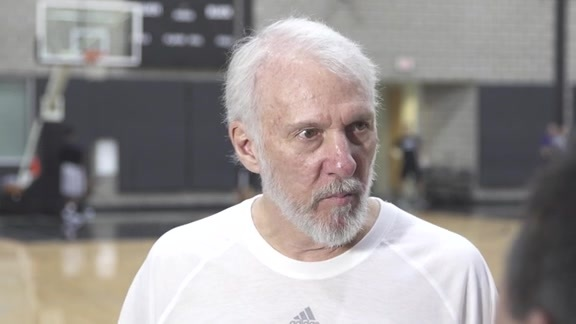 Coach Popovich: Training Camp 9/30