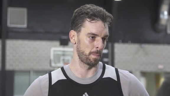 Pau Gasol: Training Camp 9/30