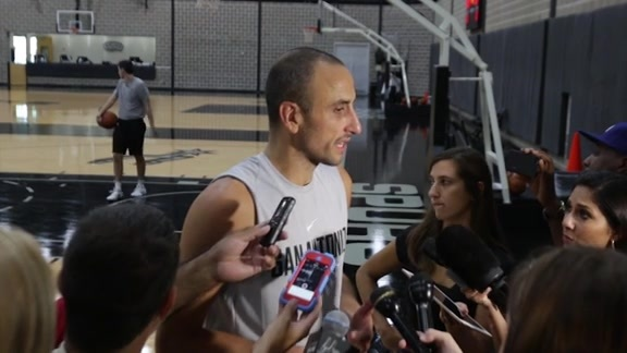 Spurs Sound: Training Camp 10/4