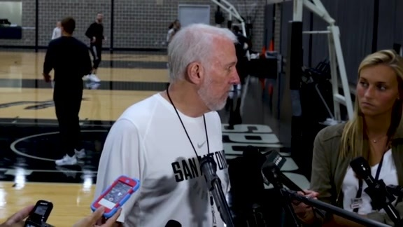 Spurs Sound - Training Camp 10/9
