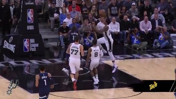Takis Intense Play of the Game -  Rudy Gay Rises Up in Debut