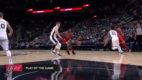 Highlights - Spurs vs Bulls 11/11