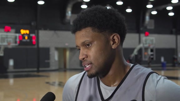 Rudy Gay - Shootaround 11/17