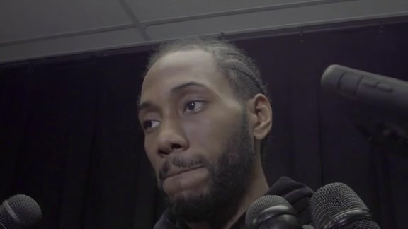 Kawhi Leonard - Media Availability 12/4
