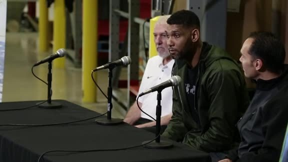 Tim Duncan's Food Bank Holiday Challenge