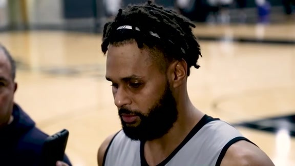 Patty Mills - Shootaround 12/18
