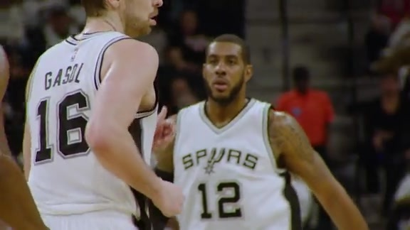 Big Time: LaMarcus Aldridge & Pau Gasol
