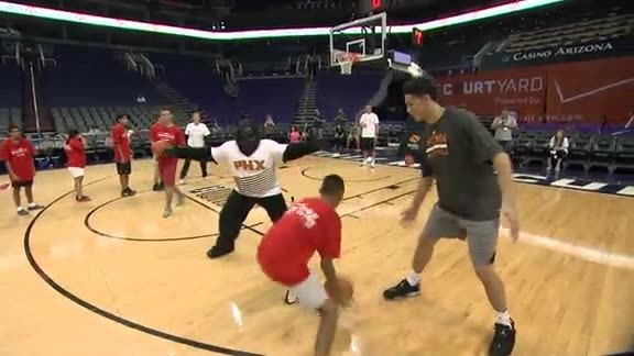 Suns Week of Service: Special Olympics
