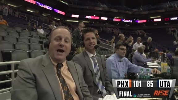 RISE Recap: Suns vs Jazz