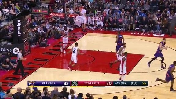 Mirza Teletovic Highlights in Win Over Raptors
