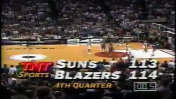 1990s Week: Barkley Breaks Down Craziest Suns Buzzer Beater