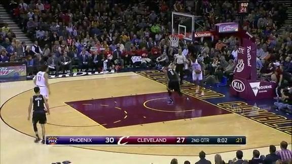 Keef Throws it Home