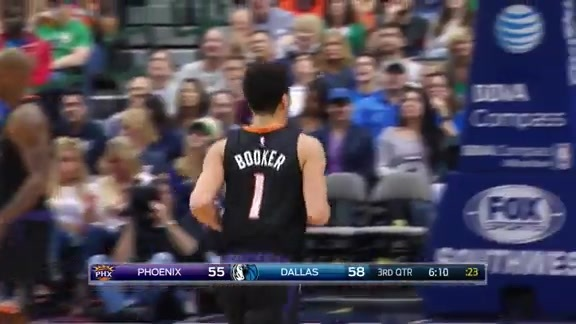 Booker's Coast-to-Coast Dunk