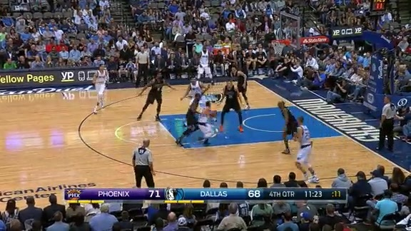Highlights: Suns at Mavs