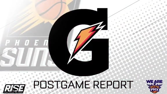 Gatorade Postgame Report: 2-6-16 Suns vs. Jazz