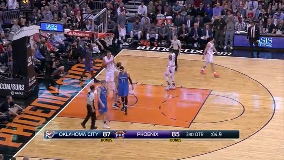 Booker With the Chase-Down Block