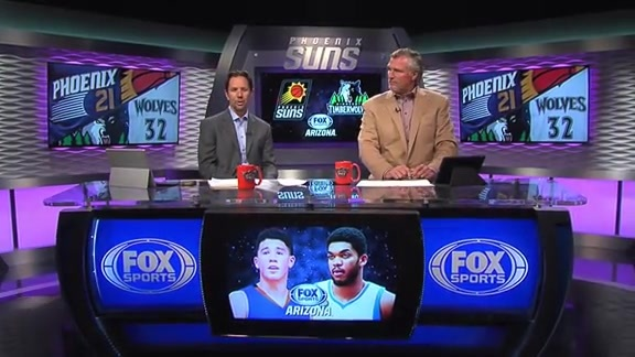 Tom and Tom: Suns Fall to Wolves