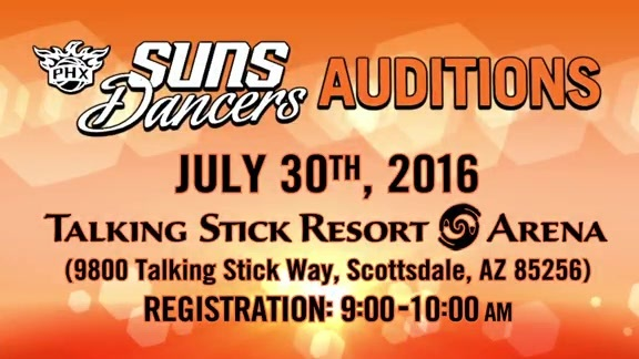 2016-17 Suns Dancer Auditions