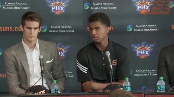 2016 Suns Introductory Press Conference
