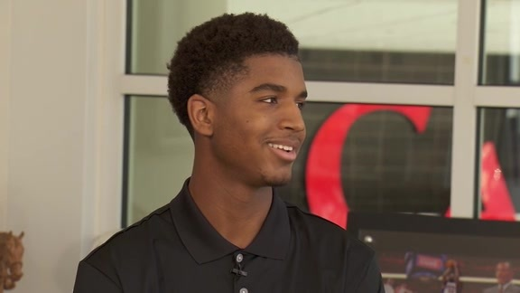 Tom Leander With Marquese Chriss