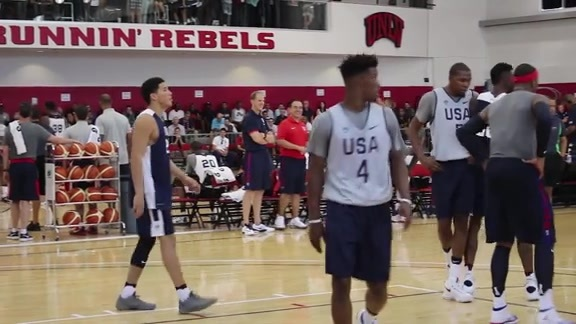 Booker With Team USA