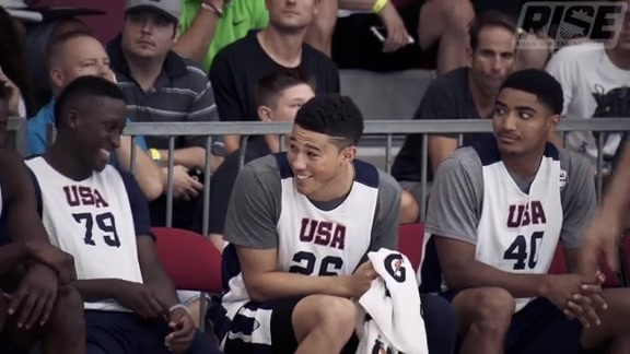 Team USA Stars Have High Praise for Devin Booker