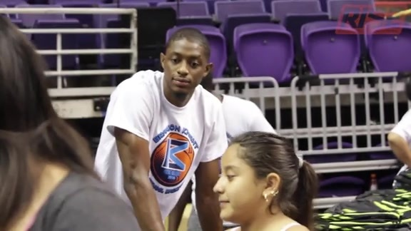 Brandon Knight Back to School Backpack Bash