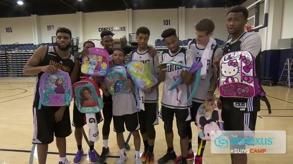 Rookies Get Cute Backpacks as Welcome to NBA Gift
