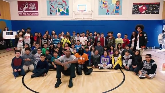 Suns Give Back to Flagstaff, NAU Community