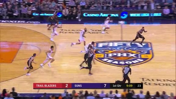 Josh Jackson Throws It Down After Bledsoe Steal