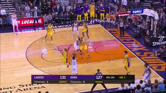 Devin Booker Knocks Down Clutch Three in Final Seconds