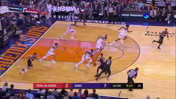 Phoenix Suns Moving Together in Perfect Unison