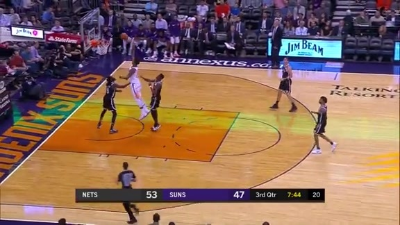 Chriss Puts on the Spin Move for the Bucket