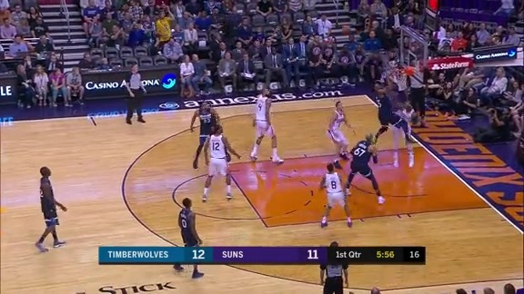 Marquese Chriss Stuffs Jimmy Butler at the Rim