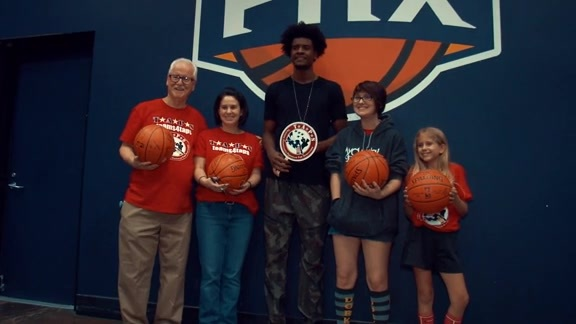 Phoenix Suns Hosts TAPS Family for Team4TAPS