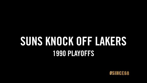 Since '68: Suns Knock Off Lakers in Playoffs