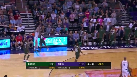 Devin Booker Buzzer Beats Vs. Bucks