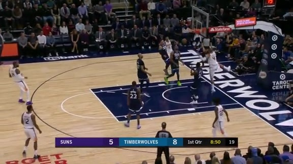 Tyson Chandler Throws Down Alley-Oop from Ulis